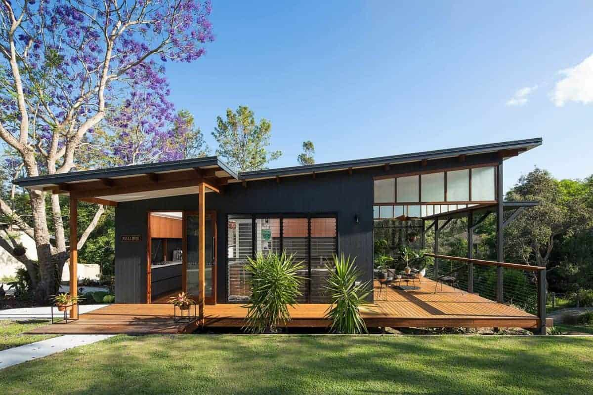 what is a granny flat super modern house